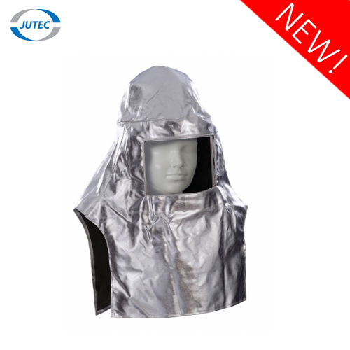 Heat protection hood with aluminum frame