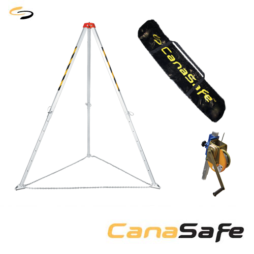 LaTCH CS Tripod and LaTCH CS Rescue Lifting Device